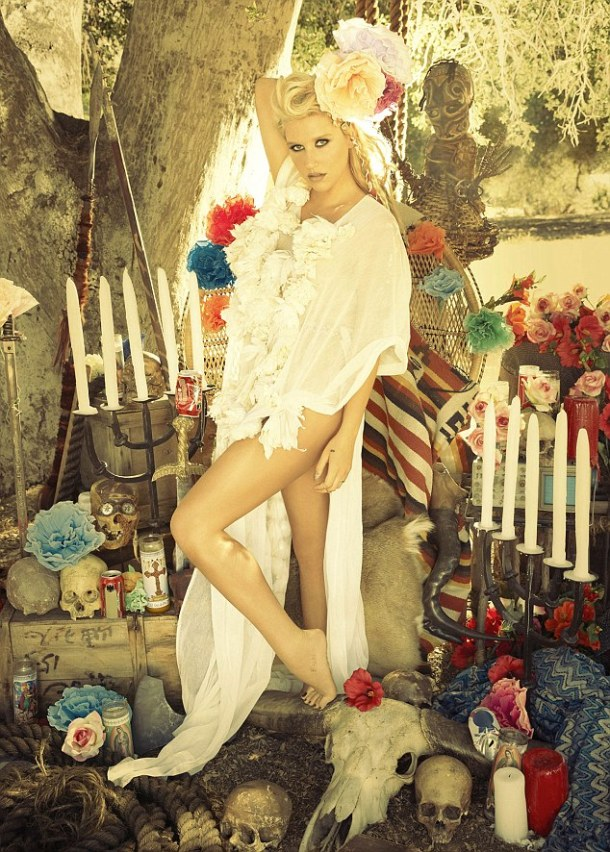 KESHA SEBERT at Warrior Album Photoshoot