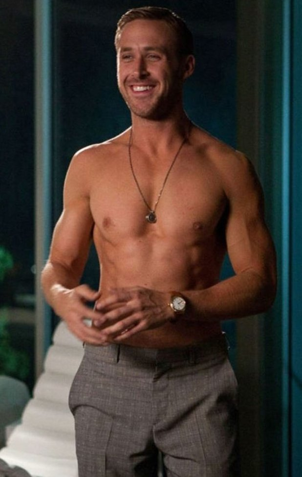 """Ryan Gosling admits on-screen abs are """"photoshopped"""" – The ... Ryan Gosling Workout"""