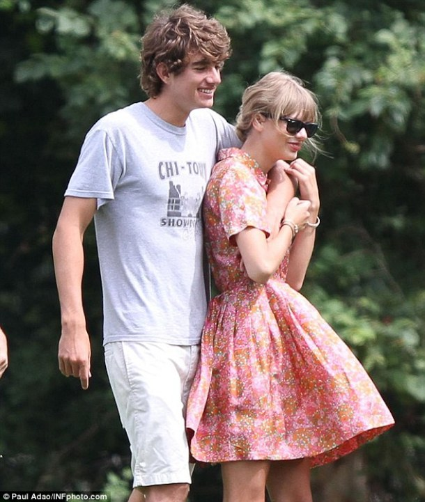 With Conor Kennedy