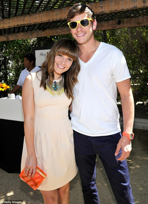 Sophia Bush and boyfriend Dan Fredenburgh