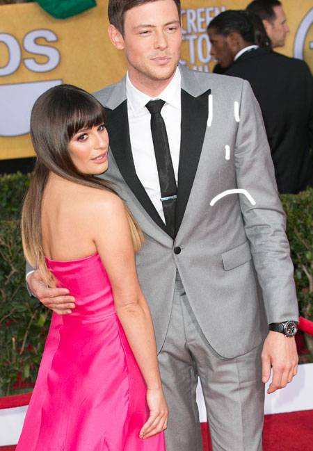 Lea Michele and Cory Monteith - Dating Gossip News Photos
