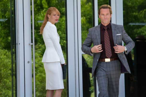 Guy Pearce plays baddie Aldrich Killian