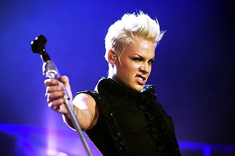 Pink had to postpone a tour date in Birmingham, UK, last month due to ...  Pink
