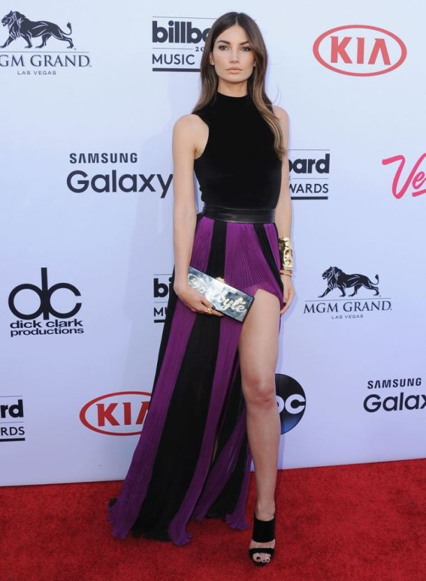 LAS VEGAS, NV - MAY 17:  Model Lily Aldridge arrives at the 2015 Billboard Music Awards at MGM Garden Arena on May 17, 2015 in Las Vegas, Nevada.  (Photo by Jon Kopaloff/FilmMagic)