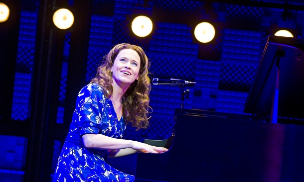 'Admirable': Katie Brayben as Carole King in Beautiful.
