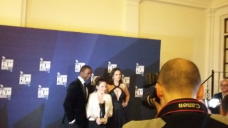 Adrian Lester, Lucy Cohen, Hayley Atwell
